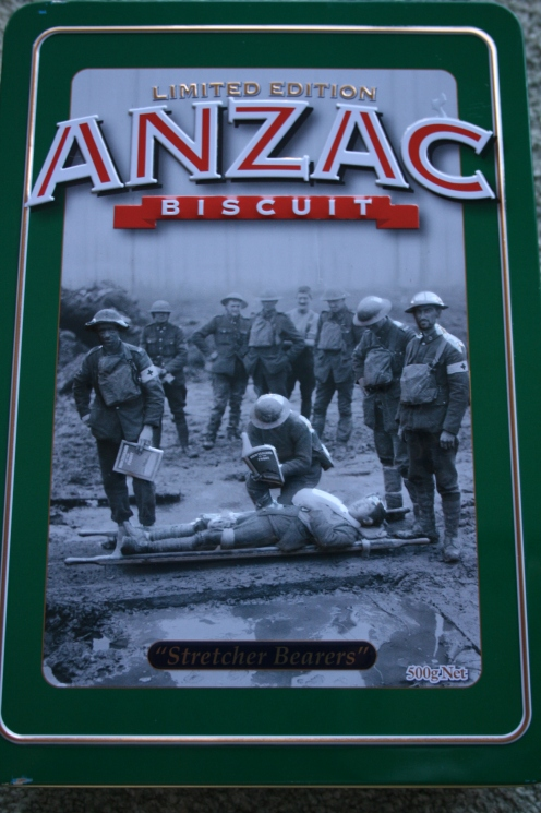 ANZAC 2013 biscuit tin